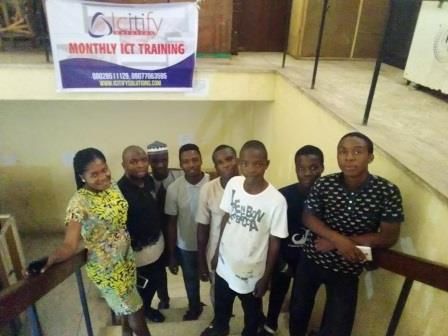 Icitify monthly ICT training, July 2019.