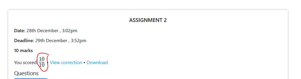 assignment-score