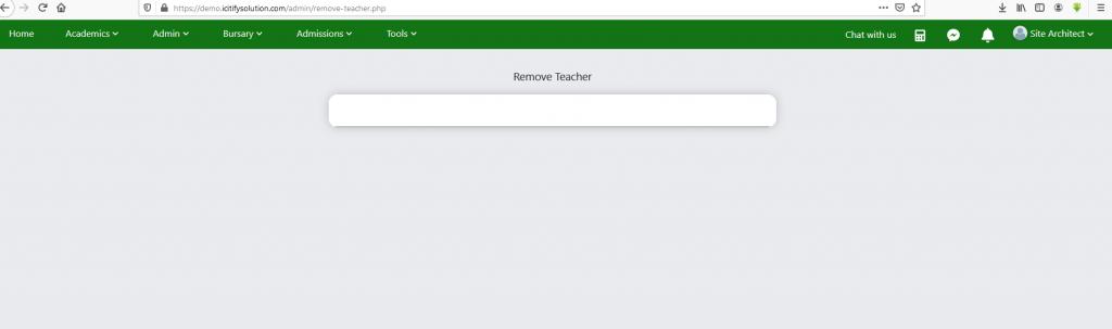 remove-teacher